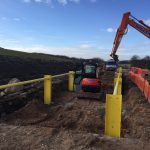 Chorley Sand Quarry Road Wheel Wash Construction